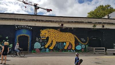 Street-art à Bordeaux Bastide