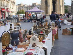 marché aux puces Saint Michel à Bordeaux